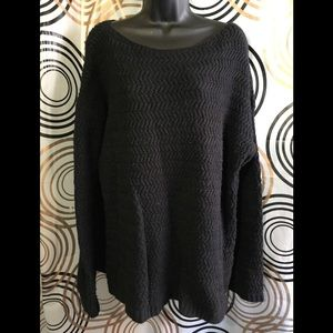 🔥5/$25- Lord & Taylor Knitted Sweater Sz L